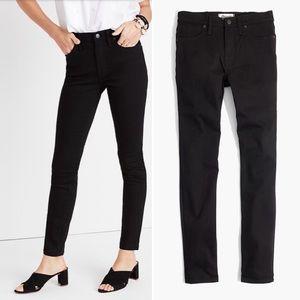 Madewell high-Rise Skinny Jeans 31 Stay Black NWT